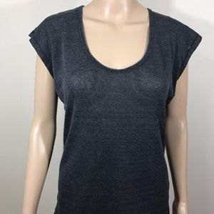 Nike Dri Fit Women's Gray Cap Sleeve Top